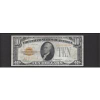 1928 $10 GOLD CERTIFICATE $10 F12