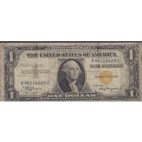 1935-A $1 WORLD WAR II NORTH AFRICA NOTE $1 F12