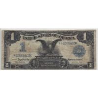 1899 $1 SILVER CERTIFICATE $1 F12