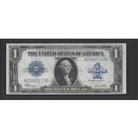 1923 $1 SILVER CERTIFICATE $1 AU53