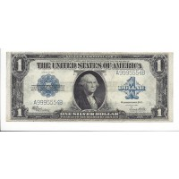 1923 $1 SILVER CERTIFICATE $1 AU50