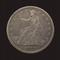 1878-S TRADE DOLLAR $1 F12