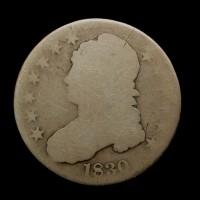 1830 Sm0 CAPPED BUST HALF DOLLAR 50c Fr2