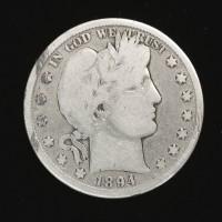 1894-S BARBER HALF DOLLAR 50c G5
