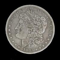 1883-S MORGAN DOLLAR $1 F12