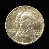 1921 Alabama 1/2$ AU58