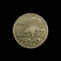 1837 Feuchtwanger Cent EF48