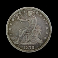 1878-S TRADE DOLLAR $1 EF40