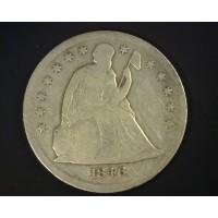 1846-O LIBERTY SEATED DOLLAR $1 VG10