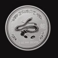 AUSTRALIA, 2001 $1 GEM BU