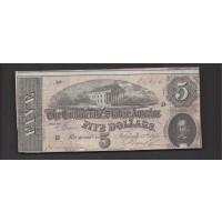1864 Type 69 $5 VF20