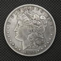 1896-S MORGAN DOLLAR $1 EF40