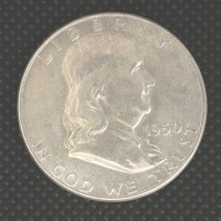 1950 FRANKLIN HALF DOLLAR 50c MS63