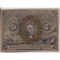 5 Cent Cent 5c (Nickel) CU