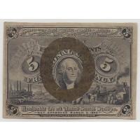 5 Cent Cent 5c (Nickel) EF40