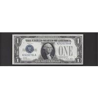 1928-A $1 SILVER CERTIFICATE $1 AU58