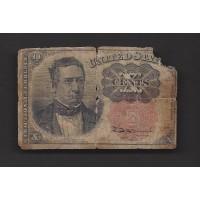 10 Cent Cent 10c AG3