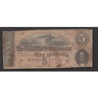 1864 Type 69 $5 G4