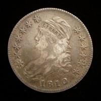 1810 CAPPED BUST HALF DOLLAR 50c EF45