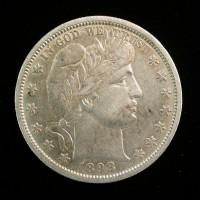 1898-O BARBER HALF DOLLAR 50c EF40