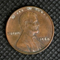 1960 SD LINCOLN MEMORIAL CENT 1c EF40