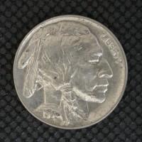 1938-D BUFFALO NICKEL 5c (Nickel) MS63
