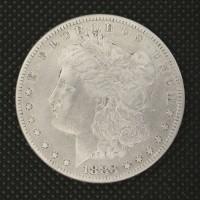 1883-S MORGAN DOLLAR $1 EF40