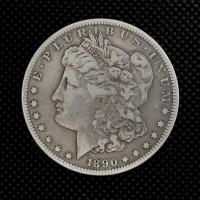 1890-CC MORGAN DOLLAR $1 VF20