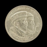 1924 Huguenot-Walloon 1/2$ MS64