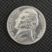 1942 JEFFERSON NICKEL 5c (Nickel) MS64 FS