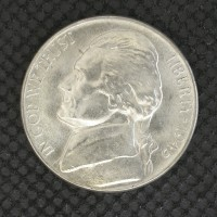 1945-D JEFFERSON NICKEL 5c (Nickel) MS64