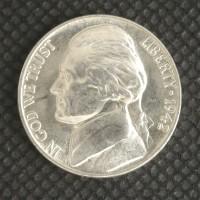 1942-P JEFFERSON NICKEL 5c (Nickel) MS65