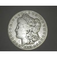 1893-CC MORGAN DOLLAR $1 VG10