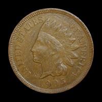 1905 INDIAN CENT 1c EF48