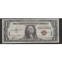 1935-A $1 WORLD WAR II HAWAII NOTE $1 F12
