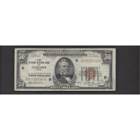 1929 $50 FEDERAL RESERVE BANK NOTE $50 F12