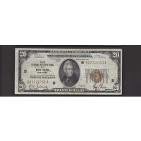 1929 $20 FEDERAL RESERVE BANK NOTE $20 F12
