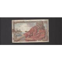 FRANCE, 1942 20 Francs F12 P100a