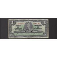 CANADA, 1937 $1 F12 P58e