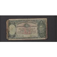 AUSTRALIA, 1942 Pound VG8 P26b