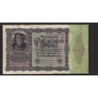 GERMANY, 1922 50,000 Mark F12 P80