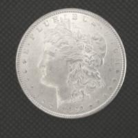 1891-S MORGAN DOLLAR $1 MS63