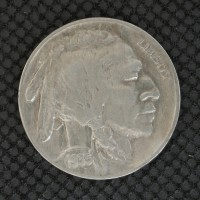 1935-D BUFFALO NICKEL 5c (Nickel) EF45