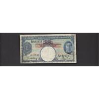 MALAYA, 1941 $1 F12 P11