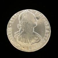 BOLIVIA, 1806 PTS 8 Reales F15 KM73