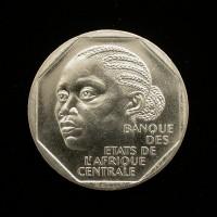 CHAD, 1985 500 Francs MS64 KM13