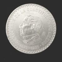 MEXICO, 1957 10 Pesos AU55 KM75