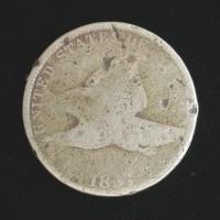 1857 FLYING EAGLE CENT 1c AG/G