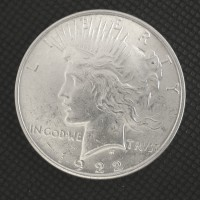 1922 PEACE DOLLAR $1 MS62