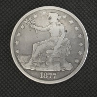 1877-S TRADE DOLLAR $1 VG10